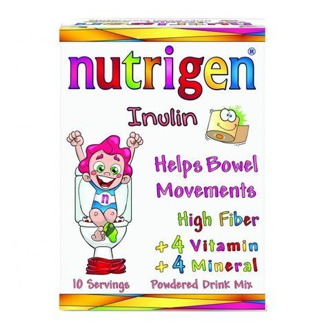 Nutrigen Инулин за бебета и деца при запек x10 сашета