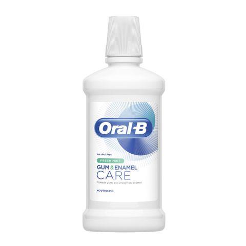 Oral B Gum & Enamel Care Вода за уста за заздравяване на венците и емайла с вкус на мента х500 мл