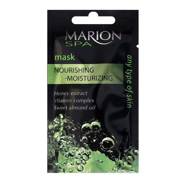 Marion SPA Подхранваща и хидратираща маска за лице с екстракт от мед и комплекс от витамини х7,5 мл