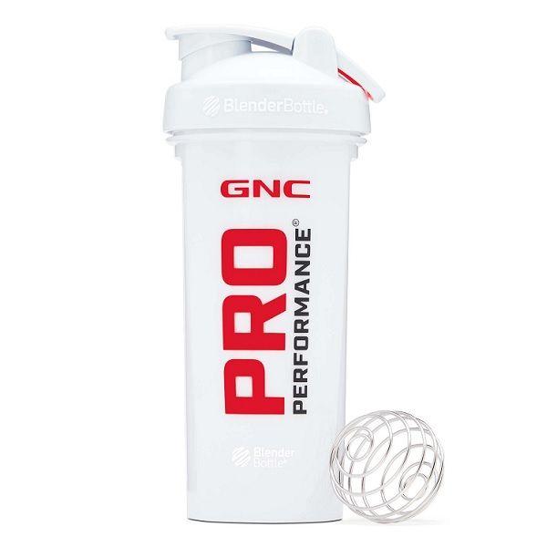 GNC Pro Performance Shaker Cup Classic Про Пърформънс шейкър Бял х828 мл