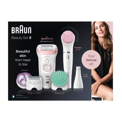 Braun Beauty Set 9 Комплект епилатор, модел 9985 и Четка за почистване и ексфолиация