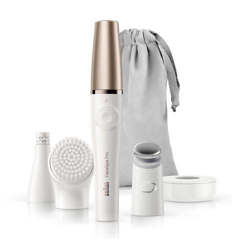 Braun FaceSpa 911 Система за грижа за лицето с епилатор, четка и масажираща глава