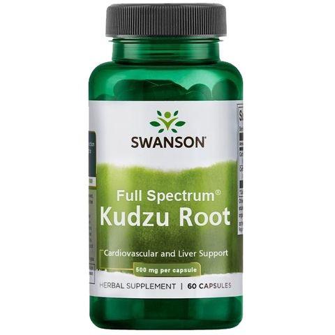 Swanson Кудзу срещу влечение към алкохол и никотин 500 мг х60 капсули