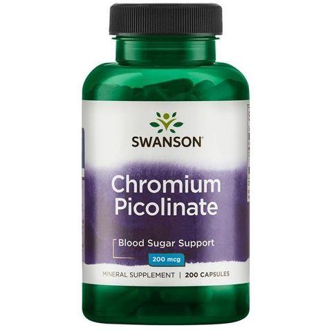 Swanson Хром Пиколинат 200 мг х100 капсули