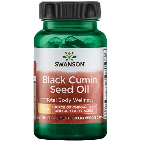 Swanson Масло от черен кимион 500 мг х60 капсули