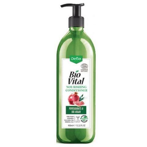 Deva BioVital Подхранващ балсам за обем за фина и тънка коса с арган и нар х400 мл