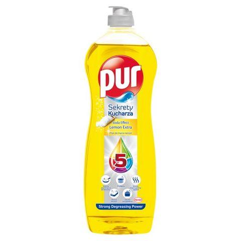 Pur Power Lemon Extra Препарат за миене на съдове х750 мл