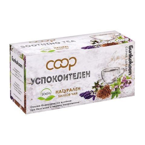 Coop Натурален билков чай Успокоителен х20 филтърни пакетчета