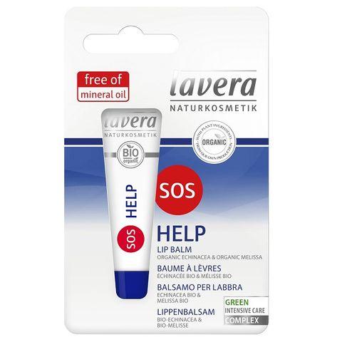Lavera SOS Help Възстановяващ балсам за раздразнени устни с органичен екстракт от ехинацея х8 мл