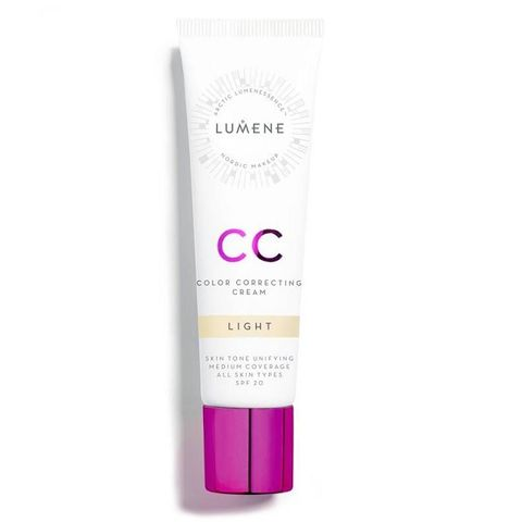 Lumene CC Cream SPF20 Коригиращ крем - фон дьо тен за лице, цвят Light