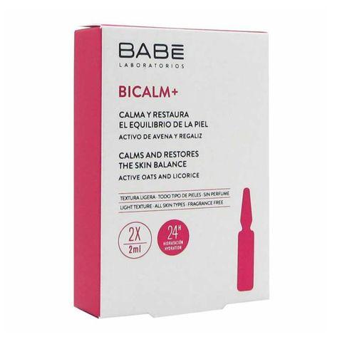 Babe Bicalm+ Възстановяващи ампули за раздразнена кожа 2х2 мл