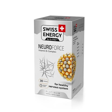 Swiss Energy NeuroForce Витамин В комплекс х30 капсули