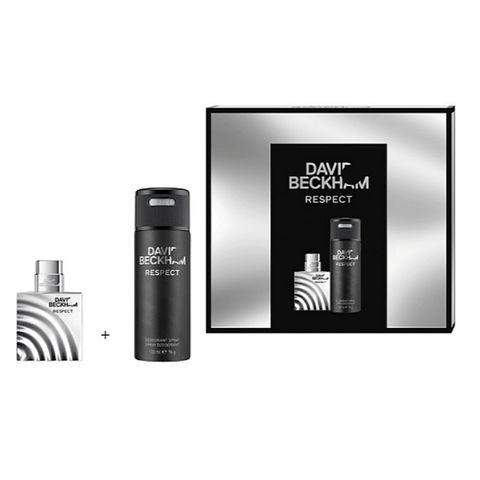 David Beckham Respect Промо комплект за мъже Тоалетна вода и Део спрей