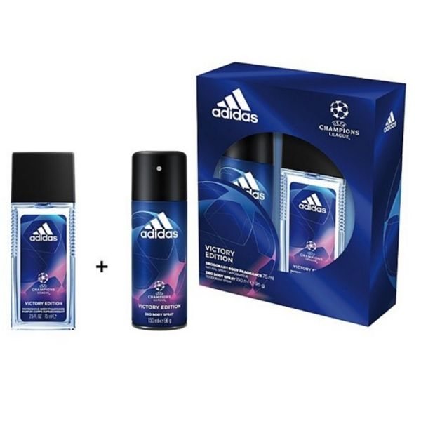 Adidas Champions League Промо комплект за мъже Парфюмна вода и Дезодорант спрей