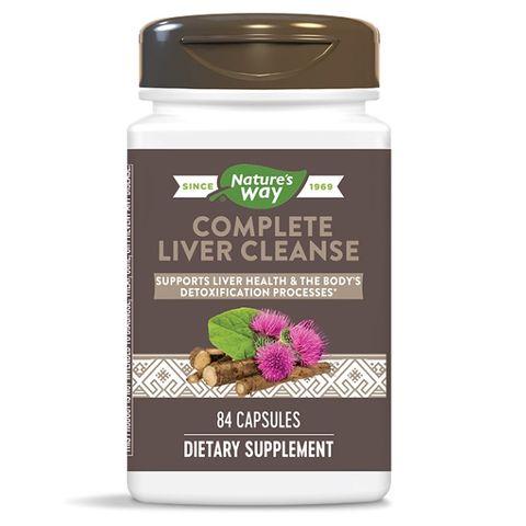 Liver Cleanse За прочистване на черния дроб х84 капсули Nature's way