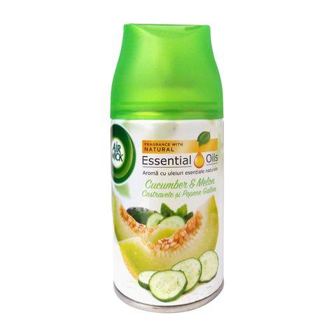 Air Wick Cucumber & Melon Пълнител ароматизатор за устройство Freshmatic x250 мл