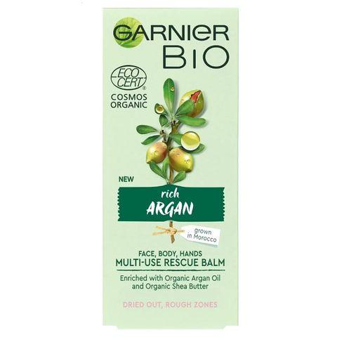 Garnier Bio Argan Универсален био балсам за лице, ръце и тяло с арган х50 мл