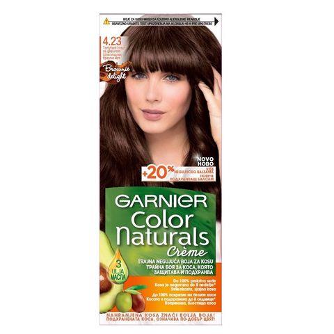 Garnier Color Naturals Трайна боя за коса, цвят 4.23