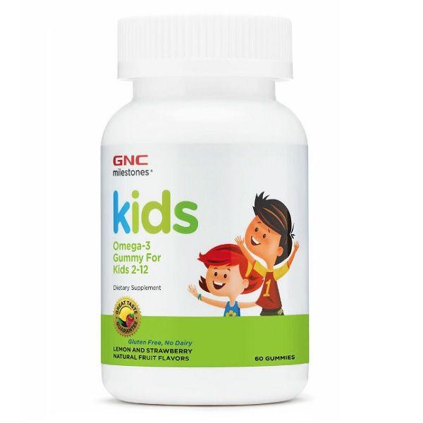 GNC Milestones Kids Омега-3 за деца от 2 до 12 години х60  желирани таблетки за дъвчене