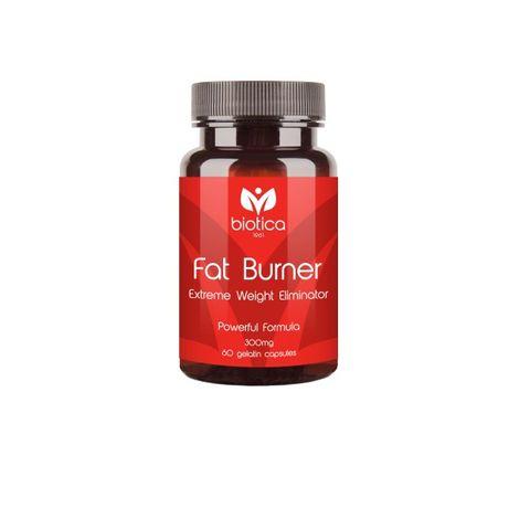 Biotica Fat Burner Екстремен редуктор на излишното тегло х60 капсули