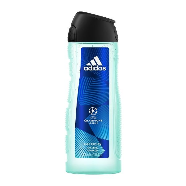 Adidas Champions League Dare Мъжки освежаващ душ гел за коса и тяло х400 мл