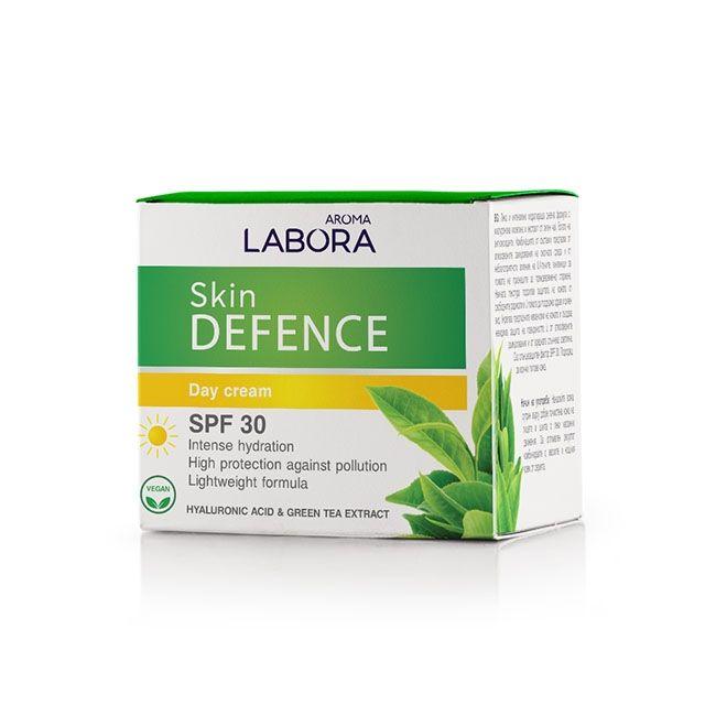 Aroma Labora Skin Defence Хидратиращ дневен крем за лице с лека формула и SPF30 х50 мл