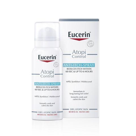Eucerin Atopicontrol Спрей за суха и атопична кожа при сърбеж x50 мл