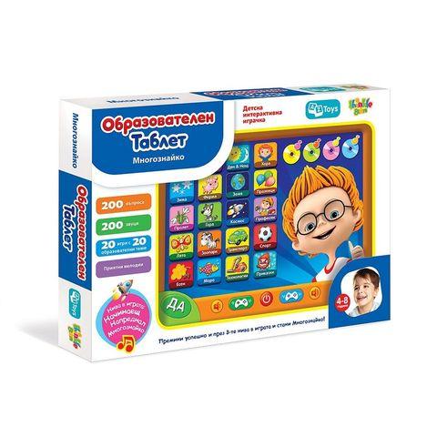 Thinkle Stars Образователен таблет Многознайко за деца от 4 до 8 години