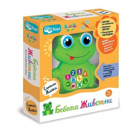 Thinkle Stars Музикална играчка Смешна жабка за деца над 12 месеца