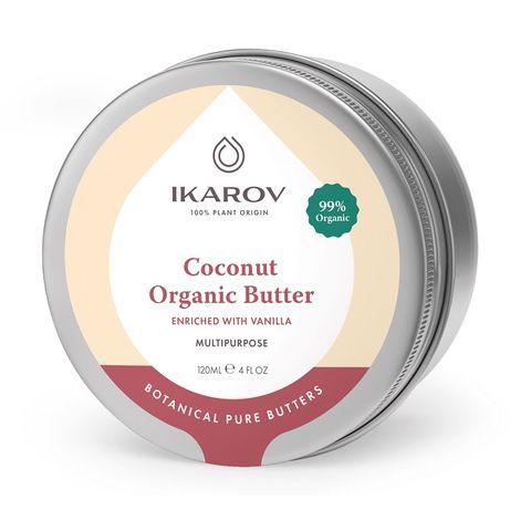 Икаров Кокосово органични масло обогатено с ванилия х120 мл