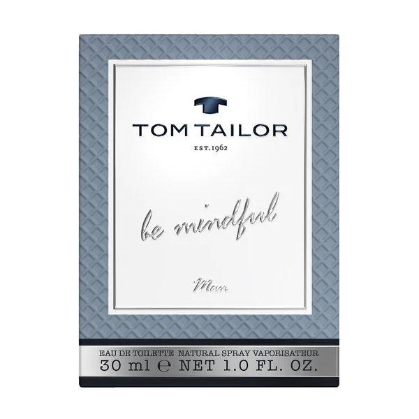 Tom Tailor Be Mindful Тоалетна вода за мъже x30 мл