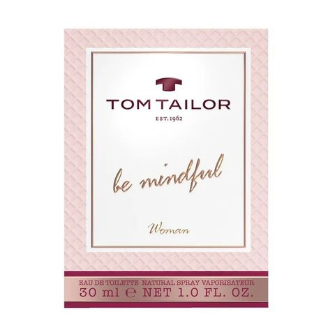 Tom Tailor Be Mindful Тоалетна вода за жени x30 мл