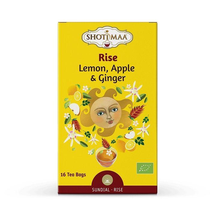 """Shoti Maa Чай ''Събуди се"""" с лимон, ябълка и джинджифил x16 торбички"""