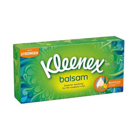 Kleenex Brand Tissues Balsam Сухи кърпи x72 броя