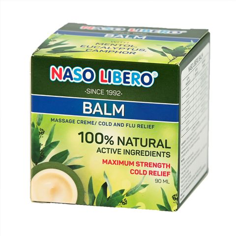 Naso Libero Балсам за разтривки x90 мл