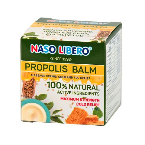 Naso Libero Propolis Balm Балсам за разтривки с прополис x90 мл