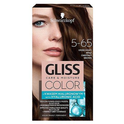 Gliss Color Трайна боя за коса, 5-65 Кестеняв