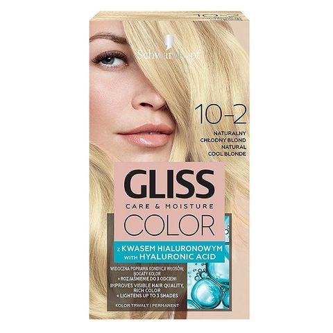Gliss Color Трайна боя за коса, 10-2 Естествено хладно рус