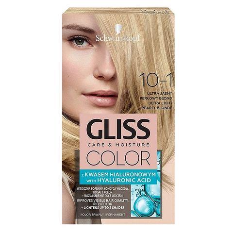 Gliss Color Трайна боя за коса, 10-1 Ултра светло перлено рус