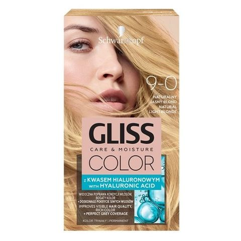 Gliss Color Трайна боя за коса, 9-0 Естествено светло рус