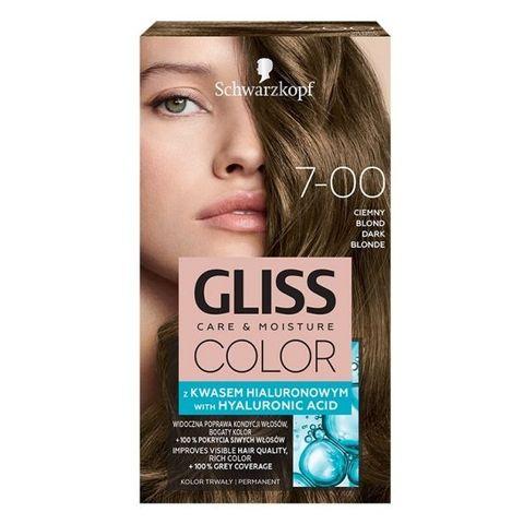 Gliss Color Трайна боя за коса, 7-00 Тъмно рус