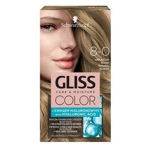 Gliss Color Трайна боя за коса, 8-0 Естествено рус