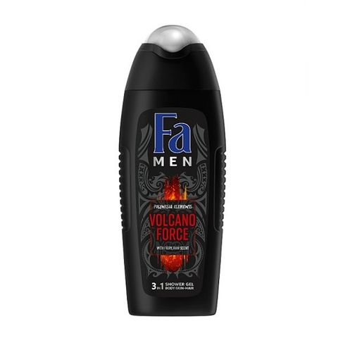 Fa Men Vulcano Force Душ гел за мъже за коса, лице и тяло х400 мл