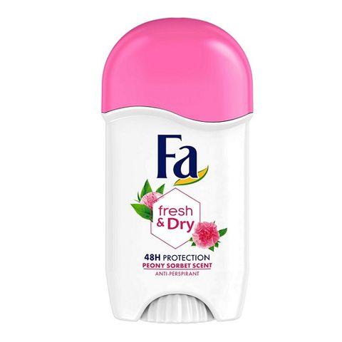 Fa Fresh & Dry Део стик против изпотяване за жени с аромат на божур х50 мл