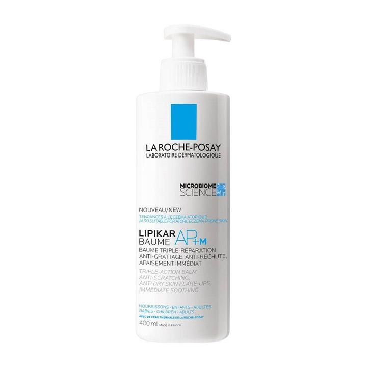 La Roche-Posay Lipikar AP+m Балсам за тяло с тройно действие за за кожа предразположена към атопия x400 мл