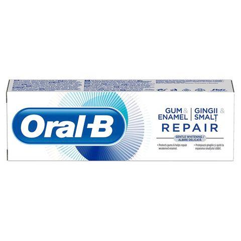 Oral-B Gum&Enamel Repair Gentle Whitening Паста за зъби за нежно избелване, защита на венците и възстановяване на емайла x75 мл