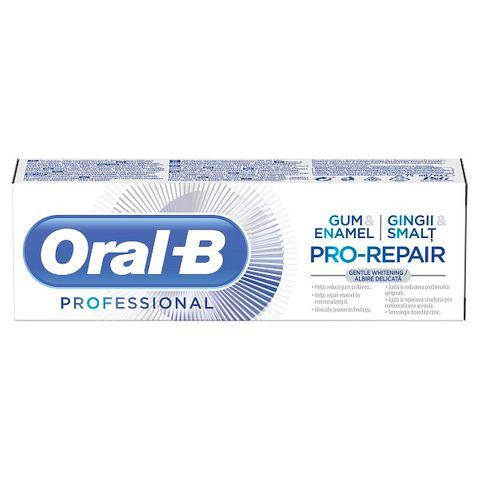 Oral-B Professional Gum & Enamel Pro-Repair Whitening Паста за зъби за нежно избелване, защита на венците и възстановяване на емайла x75 мл