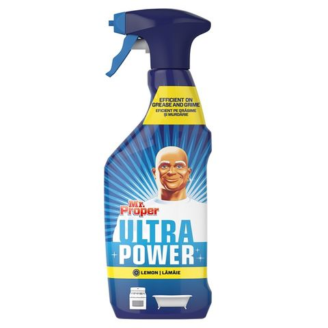 Mr. Proper Ultra Power Lemon Универсален почистващ препарат x750 мл