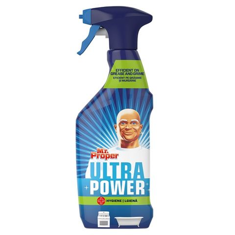 Mr. Proper Ultra Power Hygiene Универсален почистващ препарат x750 мл