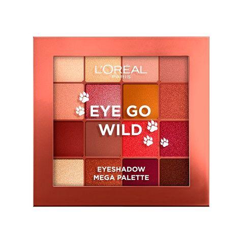 Loreal Eye Go Wild Палитра сенки за очи x16 цвята